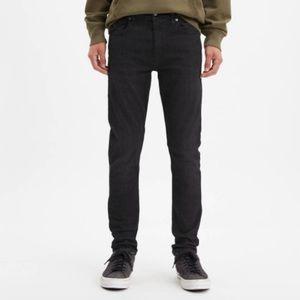 Levi 512 Slim Taper Fit Jeans Black 36x32